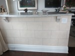 Cinder block plaster finish. Wuls residence.