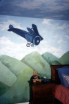 Aviation mural