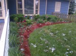 AFTER: South garden, Clarington.