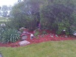 AFTER: Flagpole garden, Clarington.